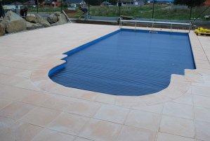 Solární lamely pro ohřev bazénové vody