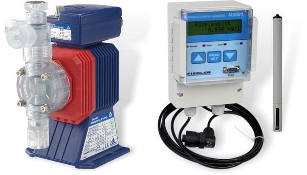 Chemické srážení fosforu / kyslíková sonda